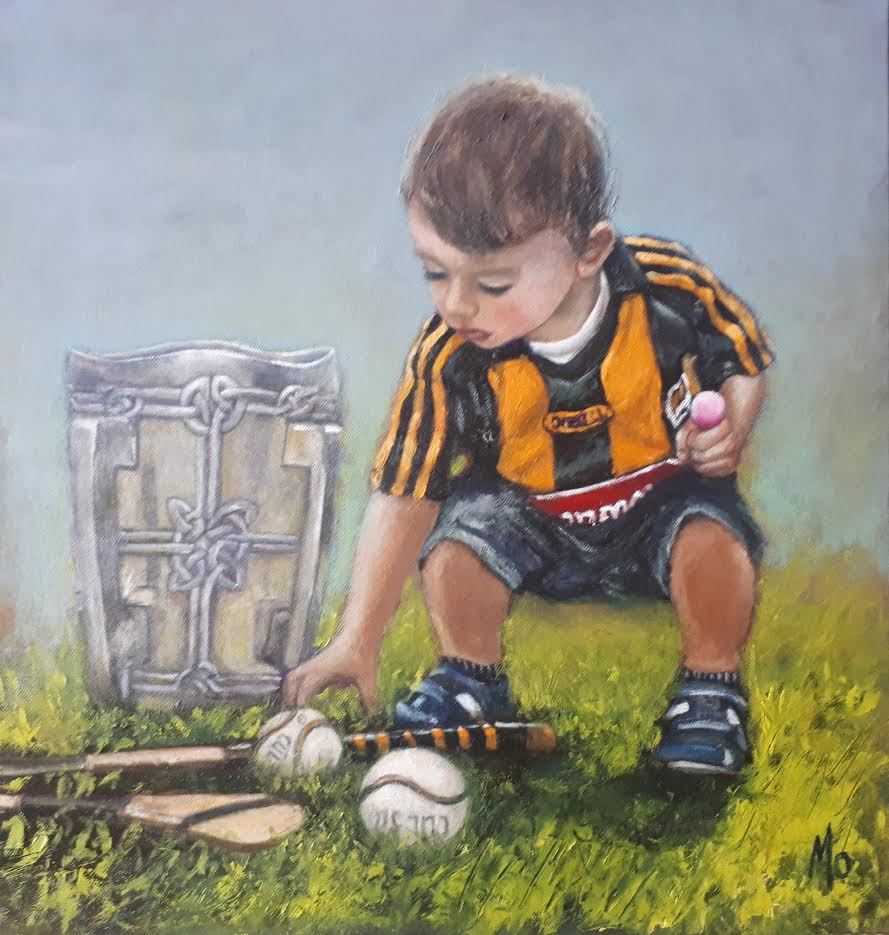Little Boy with Liam McCarthy Cup